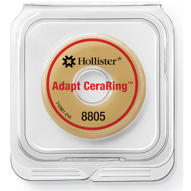 Hollister Incorporated Adapt CeraRing barrier ring package closed 8805